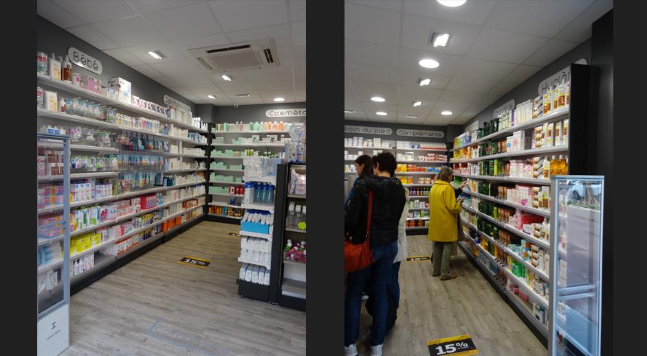 mobilier m tallique pharmacie agencement de pharmacie commerce magasinagencement de. Black Bedroom Furniture Sets. Home Design Ideas