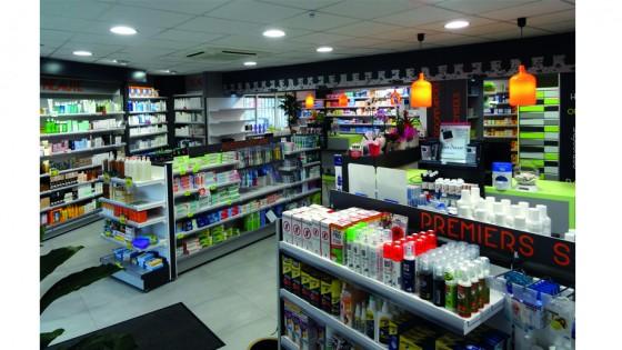 R alisations pharmacies archives page 2 sur 5 for Pharmacie de la claire