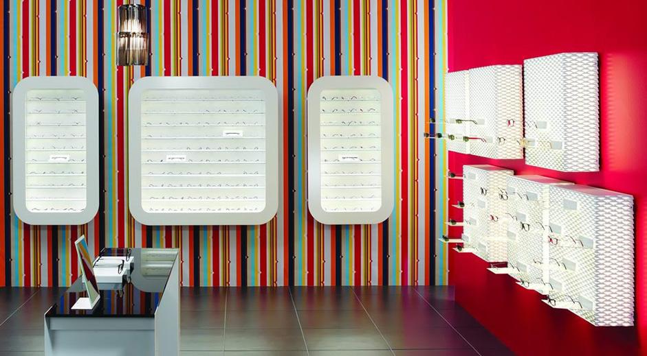 agencement de magasin enseigne optique agencement commerce restaurant magasin enseigne. Black Bedroom Furniture Sets. Home Design Ideas