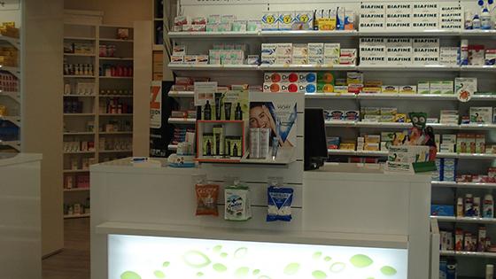 Agencement de magasin enseigne magasin agencement - Le comptoir des pharmacies ...