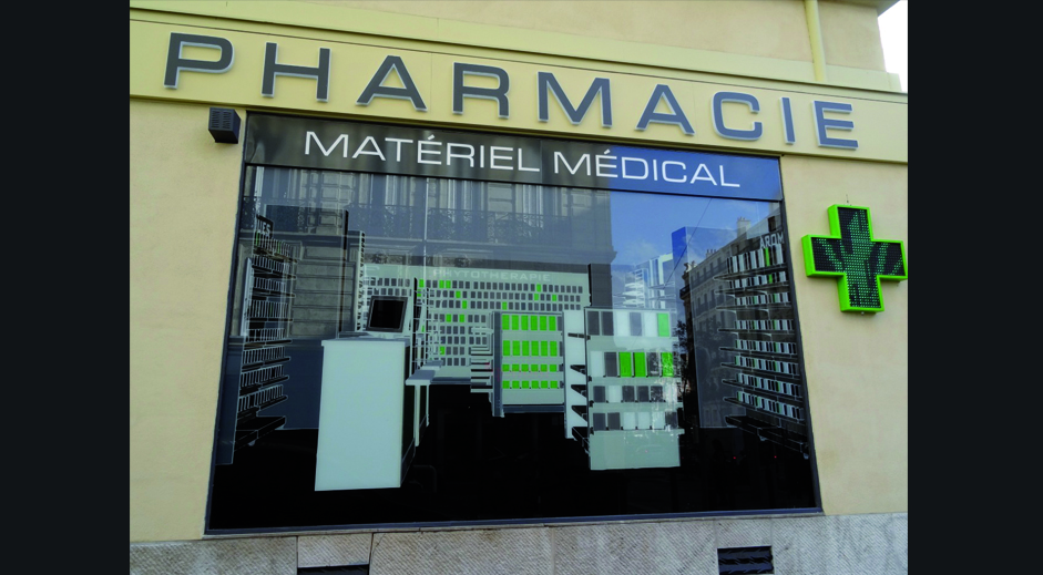enseigne lumineuse magasin pharmacie croix de pharmacie comptoir de pharmacie magasin. Black Bedroom Furniture Sets. Home Design Ideas